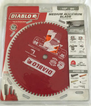 Diablo D1080N 10 in. x 80 Tooth Medium Aluminum Saw Blade New - $57.75