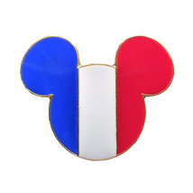 Mickey Mouse Icon Disney Lapel Pin: France Flag - $8.90