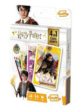 Harry Potter Shuffle Fun 4 in 1 Card Games | Ages 4+ 2-4 Players - $13.39