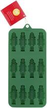 Silicone Candy Mold-Nutcracker, 12 Cavity - $8.58