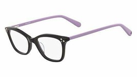 NEW NINE WEST NW 5155 001 Black & Purple Eyeglasses 47mm with Case - $59.35