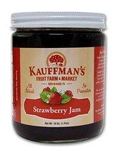 Kauffman's All-Natural Strawberry Jam, 18 Oz. Jar - $9.66