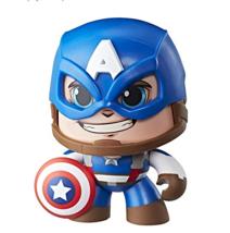 Hasbro Mighty Muggs Marvel Captain America #01 Figurine - $13.32