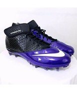 NIKE Men's Lunar Super Bad Pro D PF Football Cleats Size 14.5 NEW FREE S... - $14.87