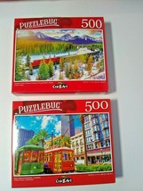 Canadian Pacific Railway Train New Orleans Streetcars Jigsaw Puzzles 500... - $15.84