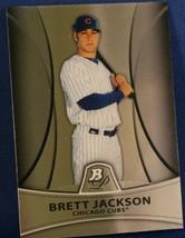 2010 Bowman Platinum Prospects Gold #PP16 Brett Jackson - $2.95