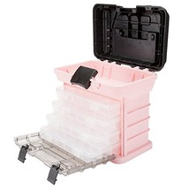 Stalwart 75-STO3183 Parts & Crafts Rack Style Tool Box with 4 Organizers... - $25.65