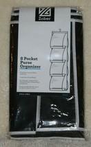 NEW!  Zober   8 pocket  purse organizer  vinyl pockets  storage protecti... - $10.66
