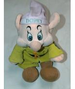 """Walt Disney Co Disney Snow White 7 Dwarf Dopey 13"""" Stuffed Plush Sitting... - $12.73"""