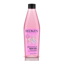 Redken Diamond Oil Gloss Shampoo Glow Dry For Shine Enhancing Blow Dry 10.1oz/30 - $23.30