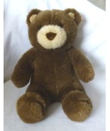 "Build a Bear Workshop Brown Teddy Bear Plush Tan Nose and Ears - 15"" Tall - $14.54"