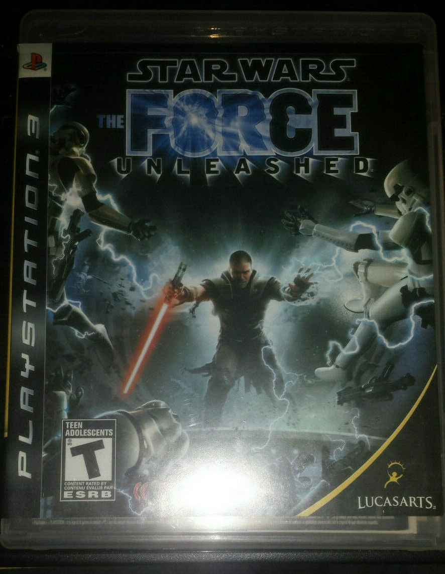 Primary image for Star Wars The Force Unleashed BLUS30144 PS3 [Mint Condition] [CIB]