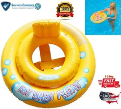 Baby Swimming Ring Floats & Safety Seat For Kids Toddler Pool Sea Swim T... - $10.90