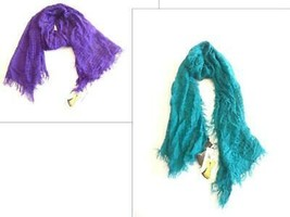 $23.00 Cajon Wrap it Up Women's Fringe End Scarf, One Size - $9.65