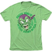 T-Shirts Size S-2XL New Authentic Mens Green Goblin Laughing Retro T-Shirt - $24.85+