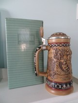 VINTAGE AVON INDIANS OF THE AMERICAN FRONTIER STEIN ~ NEW IN BOX - $21.78