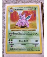 Shadowless Nidorino 37/102 - Base Set Pokemon Card - Near-Mint (NM) Cond... - $12.95