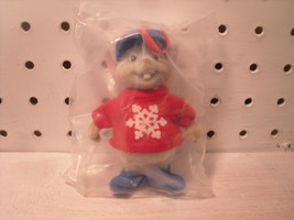 Bernard Disney Rescuers Mouse Flocked Christmas Ornament Figurine with S... - $12.93