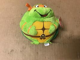 "TY Beanie Babies Ballz ""Michelangelo"" TMNT  Stuffed Collectible TY Plush - $5.83"
