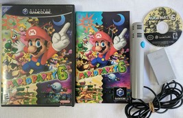 Complete Working Mario Party 6 Nintendo GameCube 2004 game Black Label C... - $79.99