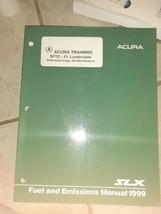 Acura SLX Fuel & Emissions Manual 1999 - $28.50