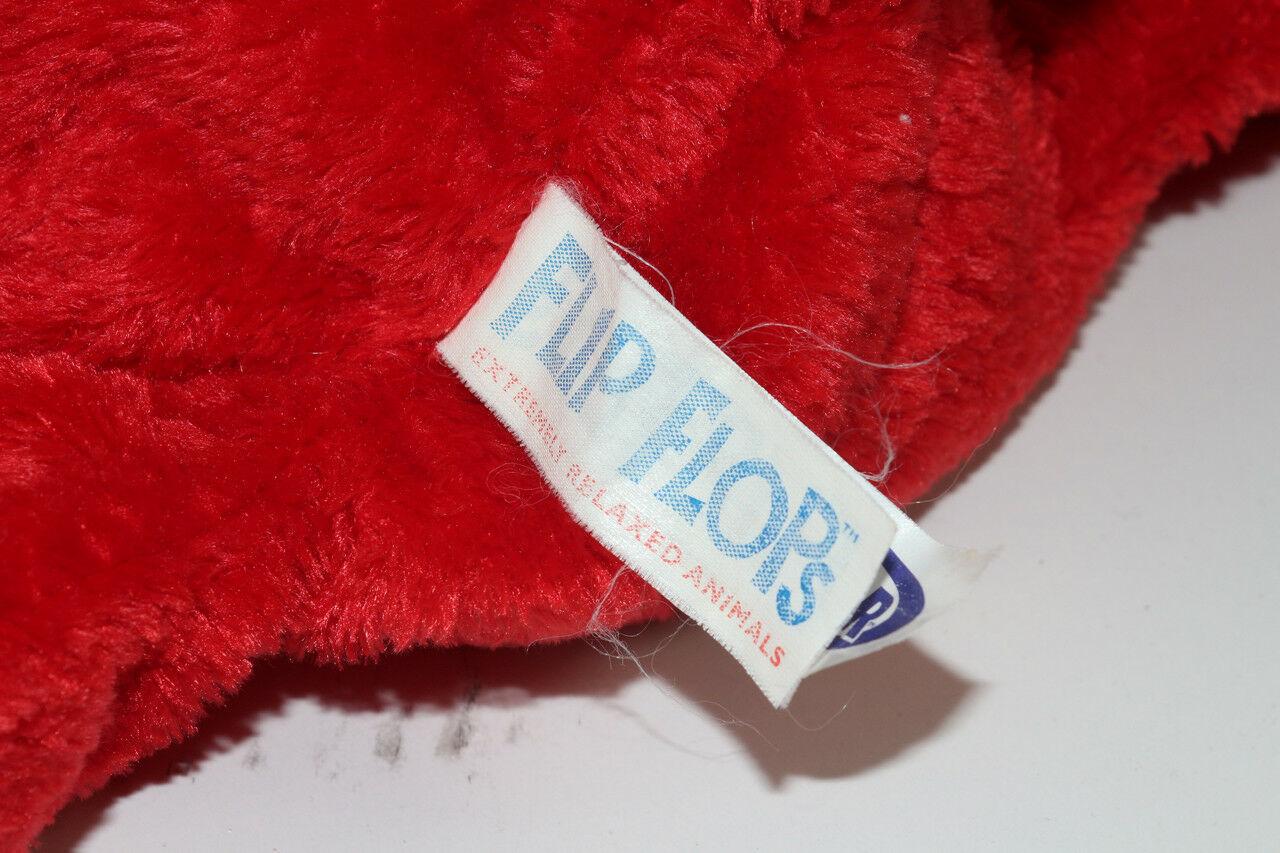 Mary Meyer FLIP FLOPS RED AND PURPLE Floppy DOG STUFFED PLUSH Animal SOFT TOY image 5