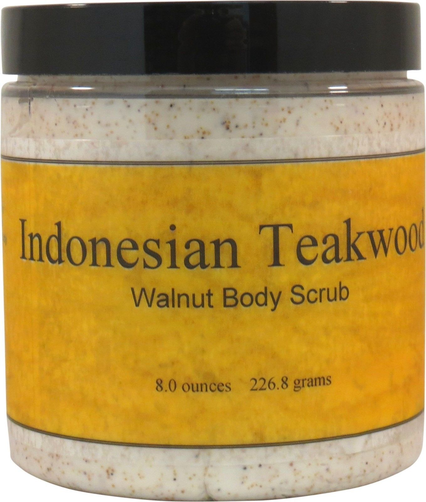Indonesian Teakwood Walnut Body Scrub