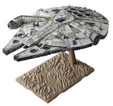Star Wars 1 144 Scale Millennium Falcon Bandai Force Kit Model Awakening... - $40.37