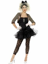 Smiffys Madonna 80s Wild Child Singer Pop Music Womens Halloween Costume... - $61.13
