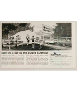 1963 Print Ad Nimrod Tent Camper Pop-Up Trailers Cincinnati,Ohio - $10.08
