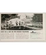 1963 Print Ad Nimrod Tent Camper Pop-Up Trailers Cincinnati,Ohio - $10.08