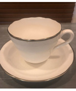 Spode Cup and Saucer Trimmed w Gold Excellent Cond Bone China Porcelain - $17.41