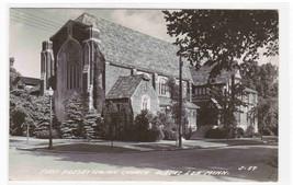 First Presbyterian Church Albert Lea Minnesota 1950 RPPC Real Photo post... - $6.93