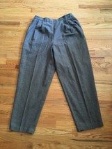 Women's Villager Liz Claiborne Gray Wool Dress Pants Size 16 - $5.01