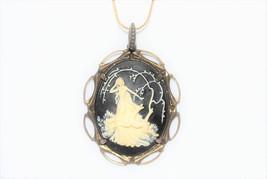Diana the Huntress Cameo necklace - $40.00
