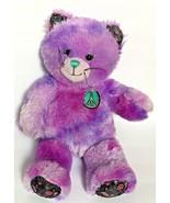 BABW Build A Bear Purple v Kitty Cat RETIRED Plush Stuffed Animal Soft Toy - $39.99