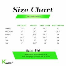vkwear Men's Striped Athletic Running Jogging Gym Slim Fit Sweat Track Suit Set image 2