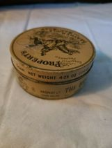 Vintage Propert's Leather & Saddle Soap Tin England has Cloth and Soap image 4