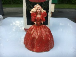 Hallmark 1st in Series Holiday Barbie 1993 Keepsake Holiday Christmas Ornament - $19.80