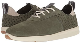 TOMS Men's Size 11 Cabrillo Sneakers Shoes Green Pine Suede - New - $35.63