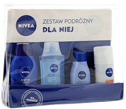 Nivea FOR HER Travel Essentials Set - Made in Germany -FREE SHIPPING - $17.81