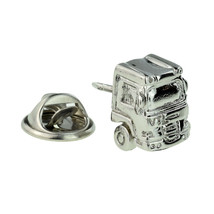 Lorry Cab, truck Front Design Badge Lapel /tie Pin Badge 3d effect with clip