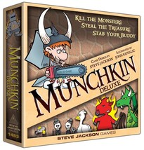 Munchkin Deluxe Board Card Game From Steve Jackson Games SJG 1483 - $25.01