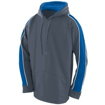 Augusta 5524 Youth Zest Hoody - Graphite/Royal/White - $26.11