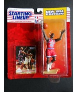 1994 Starting Lineup Calbert Cheaney Bullets Kenner NBA Basketball Figure - $3.00