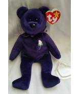 RARE Authentic 1st Edition Princess Diana Beanie Baby Indonesia 2 Tush T... - $800.00