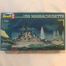 USS Massachusetts Battleship 1:720 Model Revell Model New #05031 - $19.15