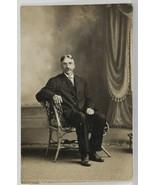 Rppc c1915 Gentleman Arthur Look A Like to Arthur on Peaky Blinders Postcard R4 - $12.95
