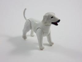 Mattel 1981 Barbie Beauty & Puppies White Afgan Puppy Dog Figure - $9.89