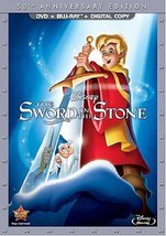 Disney The Sword in the Stone 50th Anniversary Edition Blu-ray/DVD
